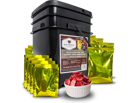 Wise Food Stocking Up Freeze Dried Fruit Supply 120 Serving Bucket