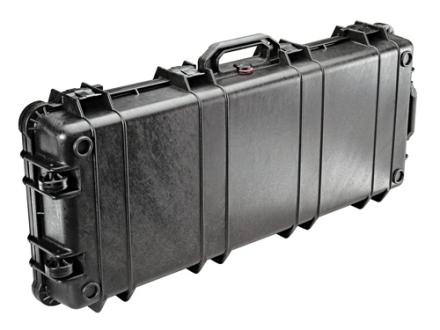 "Pelican 1720 Scoped Rifle Gun Case without Foam Insert 44"" Polymer Black"