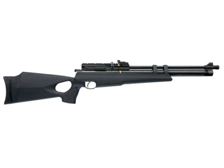 Hammerli Pneuma Elite 10 Air Rifle 177 Caliber Black Polymer Stock Blue Barrel