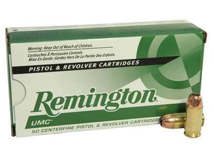Remington UMC Ammunition 45 ACP 230 Grain Jacketed Hollow Point Box of 50