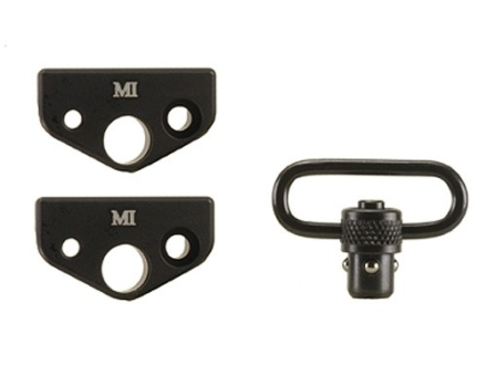 Midwest Industries Rear Sling Mount Adapter AR-15 Carbine for 4-Position Collapsible Stock Aluminum Matte