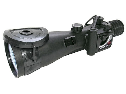 ATN MARS6x-4 4th Generation Night Vision Rifle Scope 6x 84mm Illuminated Red Mil-Dot Reticle with Integral Weaver-Style Mount Matte