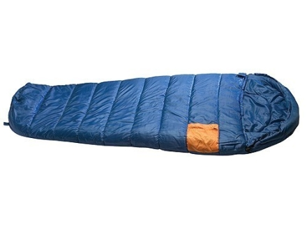 "Texsport Olympia 25 Degree Mummy Sleeping Bag 33"" x 84"" x 24"" Polyester Navy Blue"