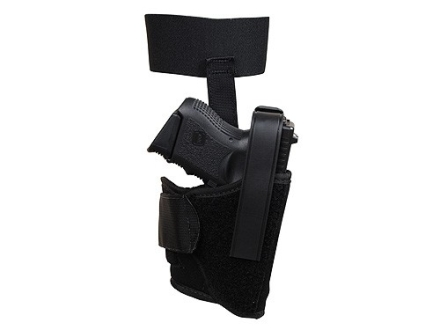 BlackHawk Ankle Holster Right Hand Glock 26, 27, 33 Nylon Black