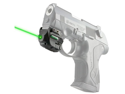 LaserMax Genesis Rechargeable External Green Laser with Intergral Picatinny-Style Mount Matte