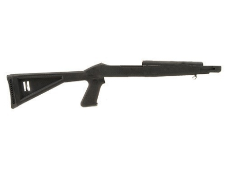 Choate Pistol Grip Rifle Stock Ruger 10/22 Standard Barrel Channel Synthetic Black