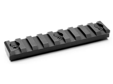 Noveske 9-Slot Keymod Customizable Rail Section for NSR Handguards AR-15 Aluminum Black