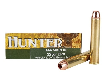 Cor-Bon DPX Hunter Ammunition 444 Marlin 225 Grain Barnes Triple-Shock X Bullet Hollow Point Lead-Free Box of 20