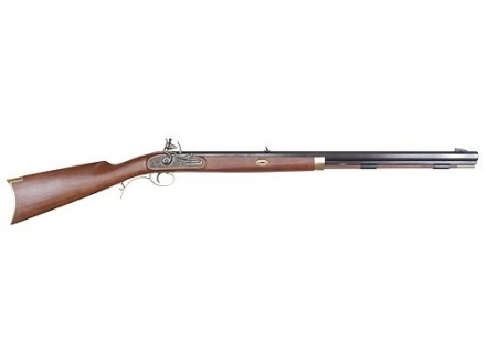 "Lyman Trade Black Powder Rifle 50 Caliber Flintlock 1 in 48"" Twist 28"" Barrel Blue"