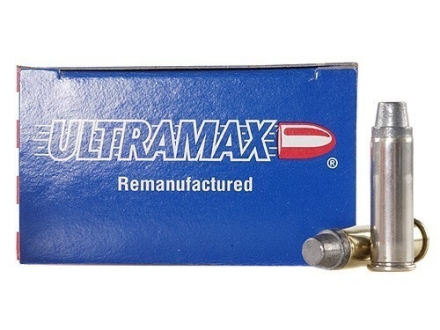 Ultramax Remanufactured Ammunition 38 Special 158 Grain Lead Semi-Wadcutter