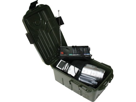 MTM Ammunition Travel-Survivor Dry Box 10&quot; x 7&quot; x 5&quot;