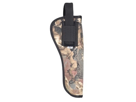 "Soft Armor Belt Holster Ambidextrous Taurus Judge 6.5"" Nylon Camo"