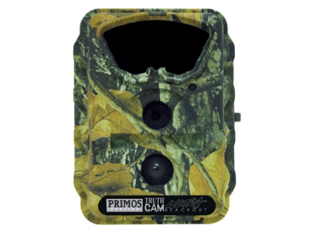 Primos Truth Cam Blackout Ultra Black Flash Infrared Game Camera 7.0 Megapixel Matrix Camo