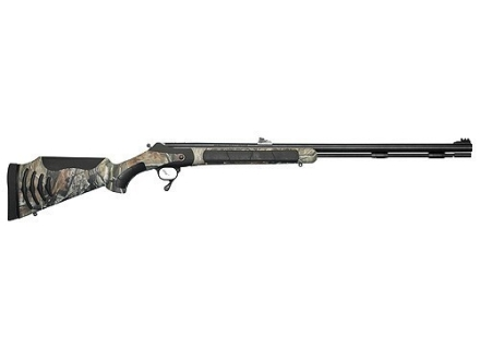 "Thompson Center Bone Collector Triumph Muzzleloading Rifle 50 Caliber Synthetic Stock Realtree AP Camo 28"" Blue Barrel"