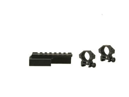 Leapers UTG Deluxe Weaver-Style Mount with 1&quot; Rings M1 Carbine Matte