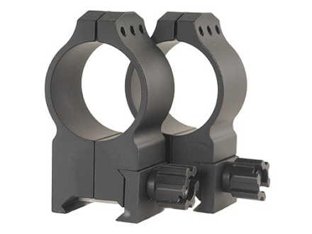 Warne 30mm Tactical Picatinny-Style Rings Matte Extra-High