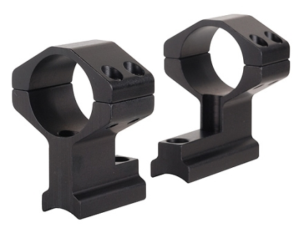 "Weaver 2-Piece Scope Base with 1"" Integral Rings CVA, Traditions Matte High"