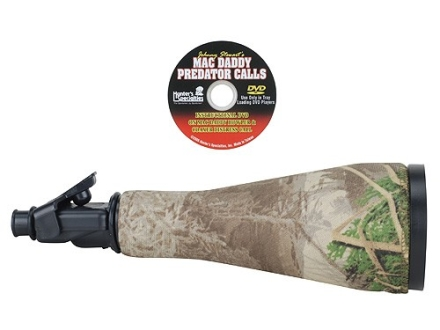 Johnny Stewart Mac Daddy Howler Predator Tube Call with Lanyard and Instructional DVD