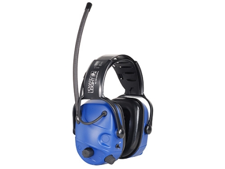Howard Leight AM/FM Radio Electronic Earmuffs (NRR 23 dB) Blue