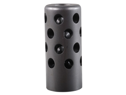 Gentry Quiet Muzzle Brake 416 Caliber 5/8&quot;-28 Thread .875&quot; Outside Diameter x 1.94&quot; Length Stainless Steel