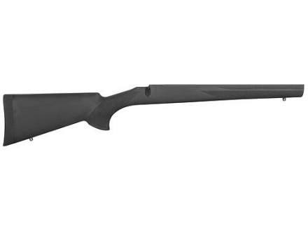 Hogue OverMolded Rifle Stock Howa 1500, Weatherby Vanguard Long Action Varmint Full Bed Rubber Black