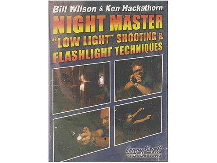 Gun Video &quot;Night Master: Low Light Shooting &amp; Flashlight Techniques with Bill Wilson &amp; Ken Hackathorn&quot; DVD