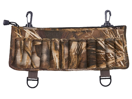 Allen Clip-On 25 Round Clip On Shotshell Ammunition Carrier with Zippered Call Pocket Neoprene Realtree Max-4 Camo