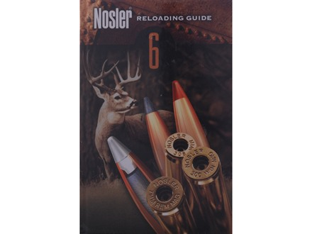 "Nosler ""Reloading Guide #6"" Reloading Manual"