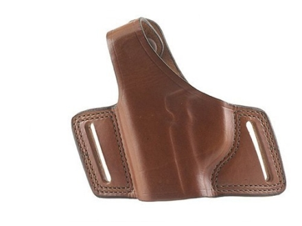 "Bianchi 5 Black Widow Holster Left Hand S&W K-Frame 2"" to 4"" Barrel Leather Tan"