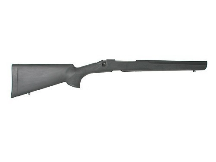 Hogue OverMolded Rifle Stock Remington 700 BDL Detachable Magazine Long Action Varmint Barrel Channel Full Bed Rubber Black