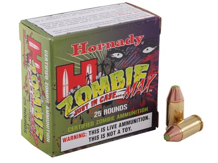Hornady Zombie Max Ammunition 380 ACP 90 Grain Z-Max Flex Tip eXpanding Box of 25
