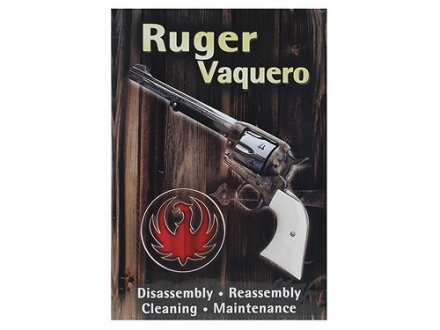"Competitive Edge Gunworks Video ""Ruger Vaquero Complete Disassembly and Reassembly, Cleaning and Maintenance"" DVD"