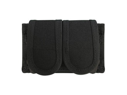 Uncle Mike&#39;s Universal Double Speedloader Pouch Nylon Black