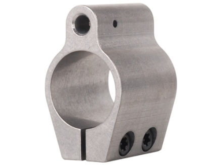 Badger Ordnance Low Profile Gas Block Clamp On AR-15, LR-308 Standard Barrel .750&quot; Inside Diameter Stainless Steel