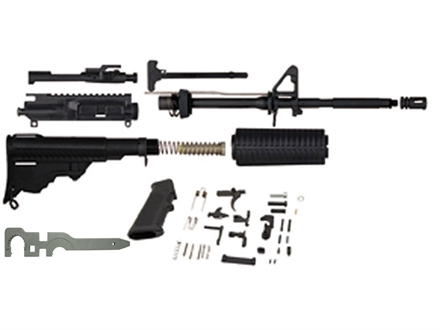"DPMS AP4 AR-15 Unassembled Carbine Kit 5.56x45mm NATO 16"" Barrel with AP4 Upper Assembly, Collapsible Stock Assembly, Lower Receiver Parts Kit Pre-Ban"