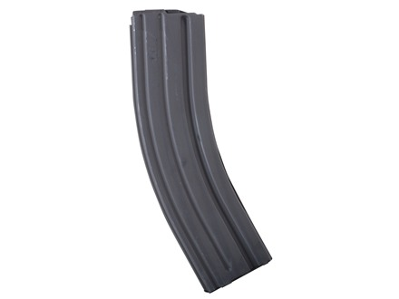 AR-Stoner Magazine AR-15 223 Remington 40-Round Curved Body with Anti Tilt Follower Stainless Steel Black