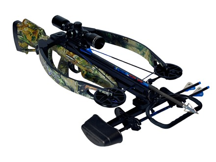 Horton Havoc 150 Crossbow Package with 4x 32mm Mult-A-Range Crossbow Scope Realtree APG Camo