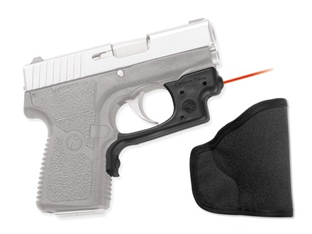 Crimson Trace Laserguard with Pocket Holster Kahr P380 Overmolded Rubber Black