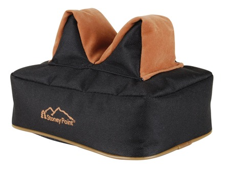 Stoney Point Standard Rear Shooting Rest Bag Nylon and Leather Filled