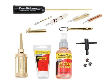 Traditions Sportsman's Package for 44 Caliber Black Powder Revolver Shooters