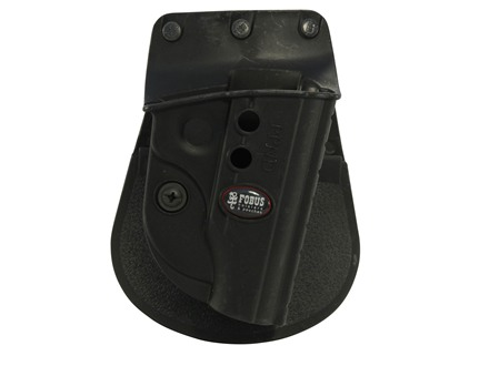 Fobus Evolution Roto-Paddle Holster Right Hand Walther PPK Polymer Black