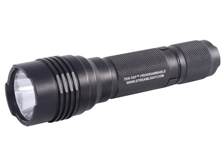 Streamlight ProTac HL Tactical Flashlight LED Bulb with Hi/Lo and Strobe Includes Holster Aluminum Black