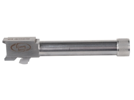 "Storm Lake Semi-Drop-In Barrel Glock 23 40 S&W 1 in 16"" Twist 4.72"" Stainless Steel 9/16""-24 Threaded Muzzle with Thread Protector"