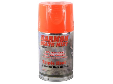 Harmon Death Mist Triple Heat Doe Estrus Scent Aerosol 6 oz