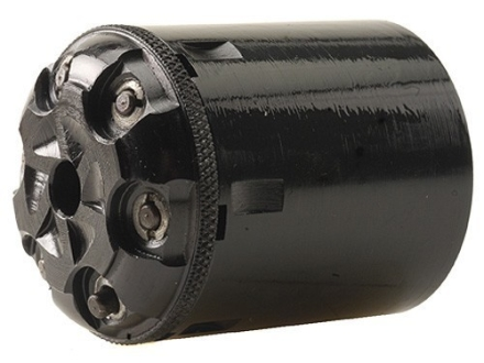 Howell&#39;s Old West Semi Drop In Conversions Drop-In Conversion Cylinder 36 Caliber Uberti 1858 New Model Navy Steel Frame Black Powder Revolver 38 Special 6-Round Blue