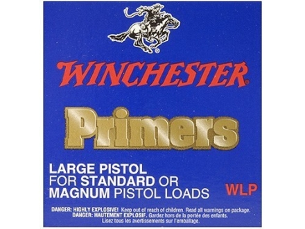 Winchester Large Pistol Primers #7 Case of 5000 (5 Boxes of 1000)