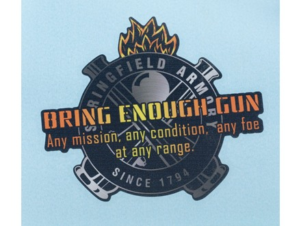 Springfield Armory Bring Enough Gun Decal