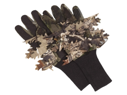 Hunter&#39;s Specialties Leafy Net Gloves Polyester Realtree APG Camo