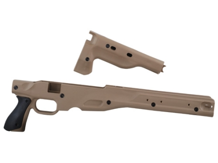 Victor Company Viperskins Accuracy International Chassis System (AICS) Short Action 2.0 Dark Earth