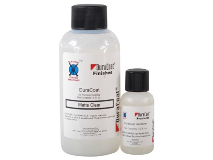 Lauer DuraCoat Firearm Finish Clear Matte 4 oz